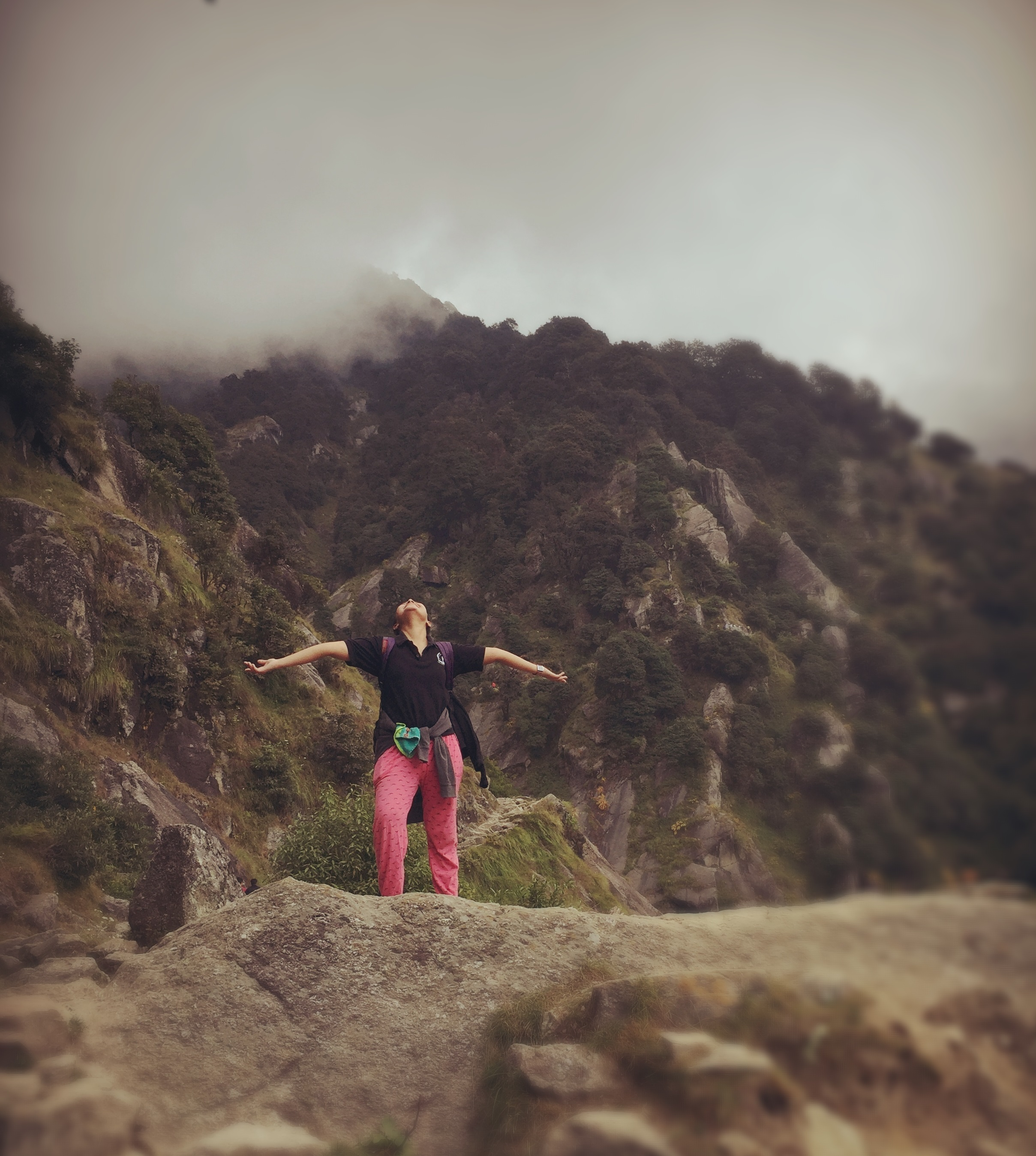 Liberation on hills. This is from my first trek to Triund