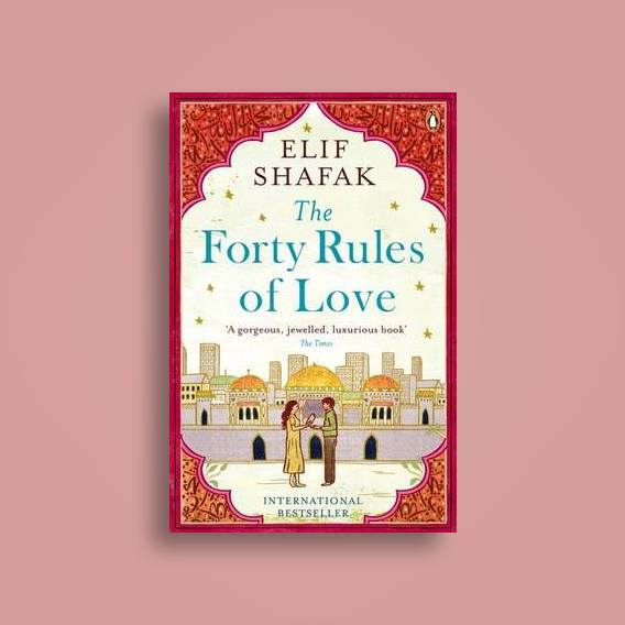 Forty Rules of love book cover